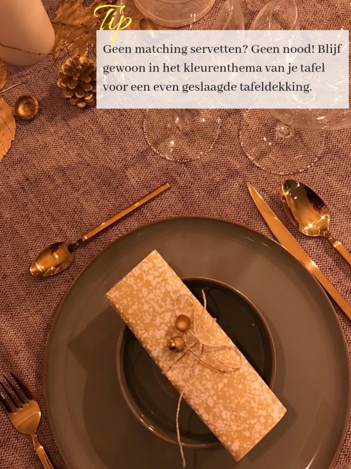 servetten feesttafel