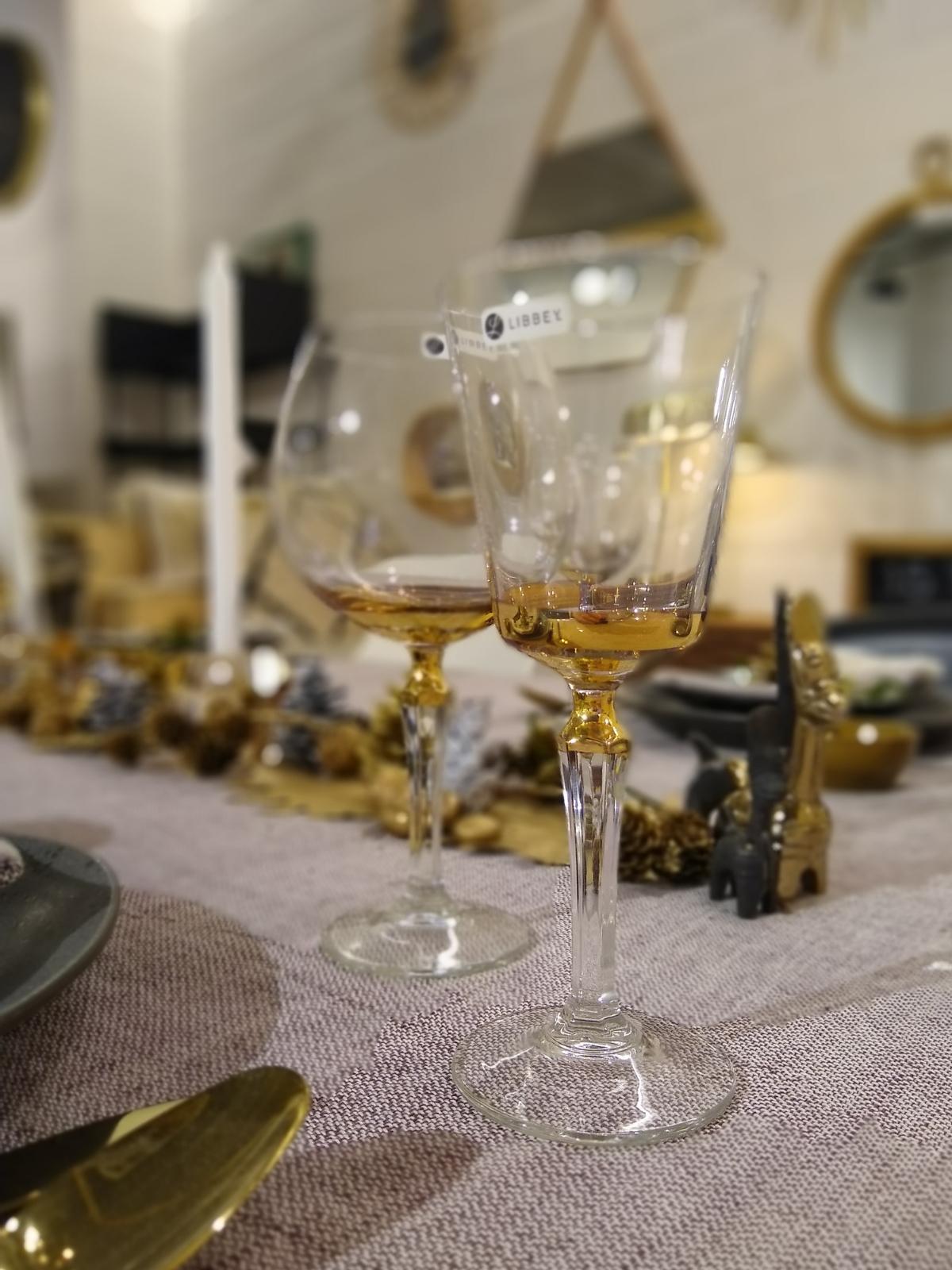 feestelijke glazen