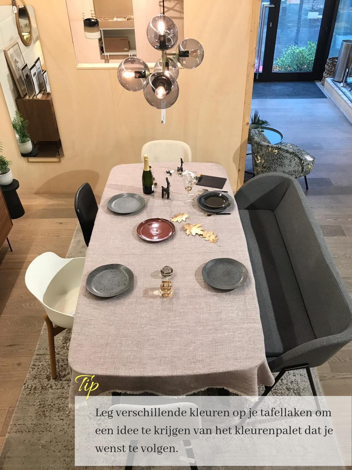 hoe een tafel dekken