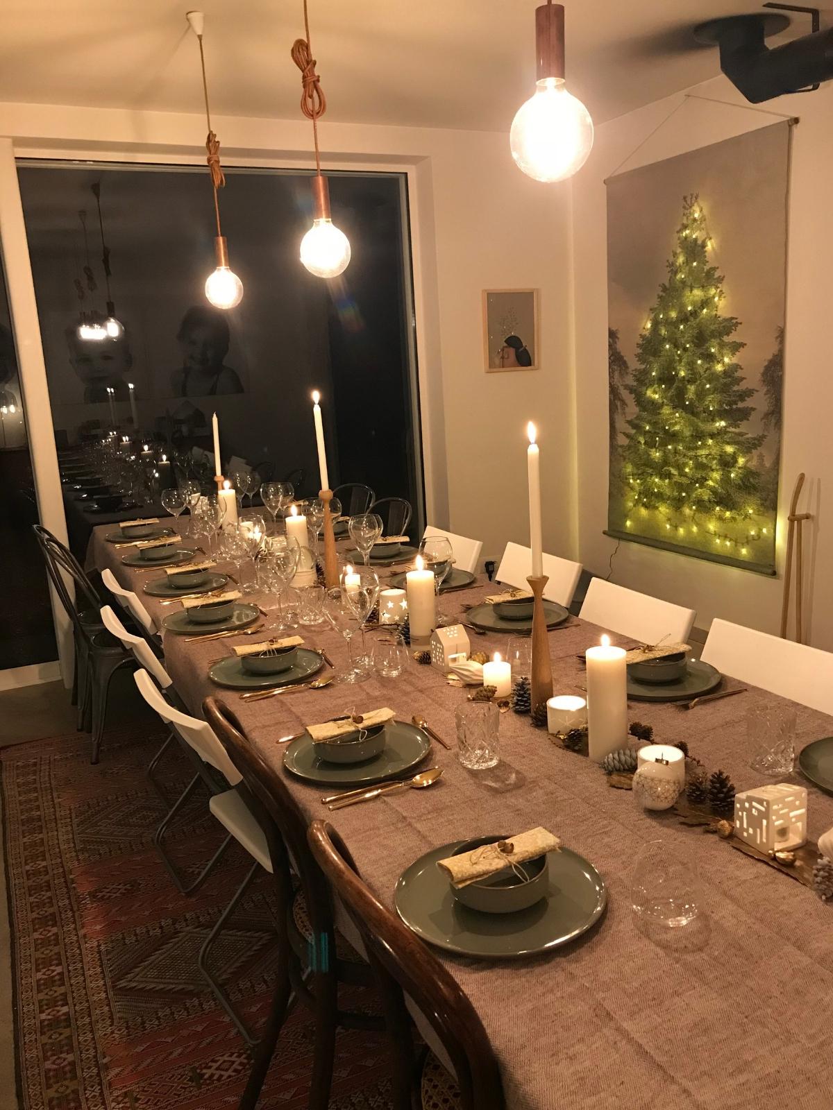 gedekte feesttafel